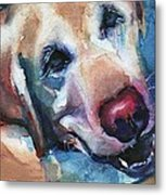 Doggie Breath Metal Print