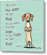 Dogitude Metal Print by Kim Niles