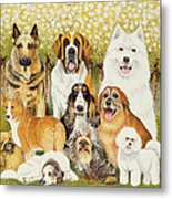 Dogs In May Metal Print
