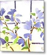 Dogwood In The Window Metal Print