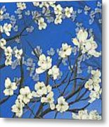 Dogwood Trees Metal Print