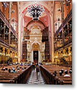 Dohany Street Synagogue In Budapest Metal Print