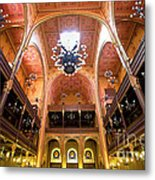 Dohany Synagogue In Budapest Metal Print