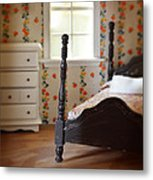 Dollhouse Bedroom Metal Print