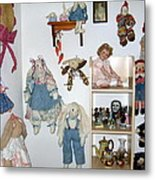 Dolls And Such Metal Print