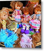 Dolls For Sale 1 Metal Print