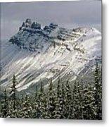 1m3538-dolomite Peak Metal Print