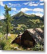 Dolomites - Cordevole Valley Metal Print