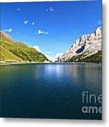 Dolomites - Fedaia Lake  Metal Print