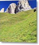 Dolomites - Grohmann Peak Metal Print