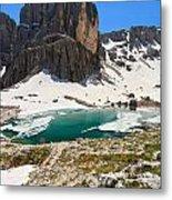 Dolomites - Pisciadu' Peak Metal Print