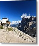 Dolomites -pale San Martino Group Metal Print