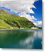 Dolomiti - Fedaia Lake Metal Print