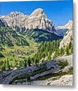Dolomiti - High Badia Valley Metal Print