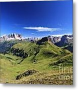 Dolomiti - High Fassa Valley Metal Print