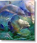 Dolphin Dream Metal Print