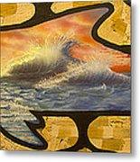 Dolphin Dream I Metal Print
