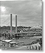 Dome And Bridge Metal Print