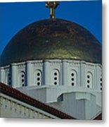 Dome At St Sophia Metal Print