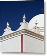 Dome At The Mission Metal Print