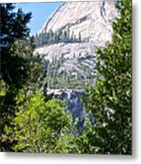 Dome Next To Half Dome Seen From Yosemite Valley-2013 Metal Print