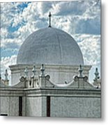 Dome Of San Xavier - Tucson Az Metal Print