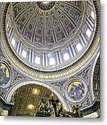 Dome Of St. Peter's Basilica Metal Print