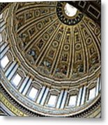 Dome Of St. Peter's Rome Metal Print