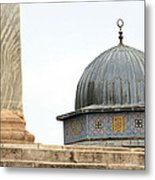 Dome Of The Rock Close Up Metal Print