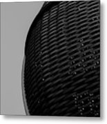 Domed Lattice Metal Print