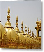 Domes At Golden Temple Metal Print