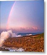 Dominican Rainbow Metal Print