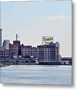 Domino Sugars - Baltimore Maryland Metal Print