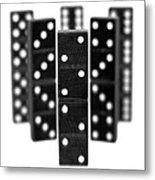 Dominoes Metal Print