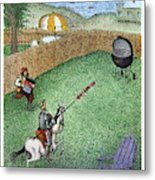Don Quixote In The Hamptons Metal Print