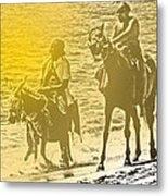 Don Quixote Rides Again Metal Print