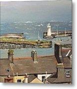 Donaghadee Ireland Irish Sea Metal Print