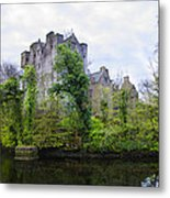 Donegal Castle In Donegaltown Ireland Metal Print