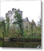 Donegal Castle Ruins Metal Print