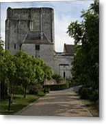 Donjon Loches - France Metal Print