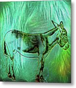 Donkey-featured In Nature Photography Group Metal Print