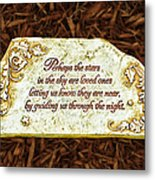 Donna's Special Message Metal Print