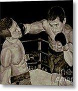 Donovan Boxing Metal Print