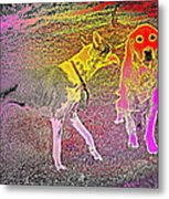 Dont Be Shy, My Friend, Be Bold  Metal Print