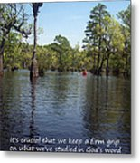 Don't Drift Off Couse Metal Print