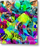 Dont Fall On The Road 3d Abstract I Metal Print