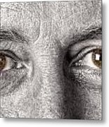 Dont Let The Stars Get In Your Hazel Eyes Metal Print