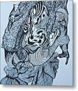 Doodle - 04 Metal Print