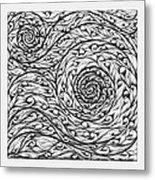 Doodle 12 Metal Print