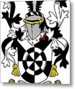 Doolan Coat Of Arms Irish Metal Print